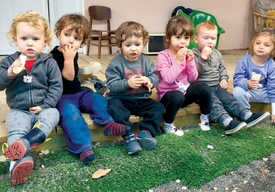 Coexistence learning at the Strawberry Gan for Jewish and Arab children