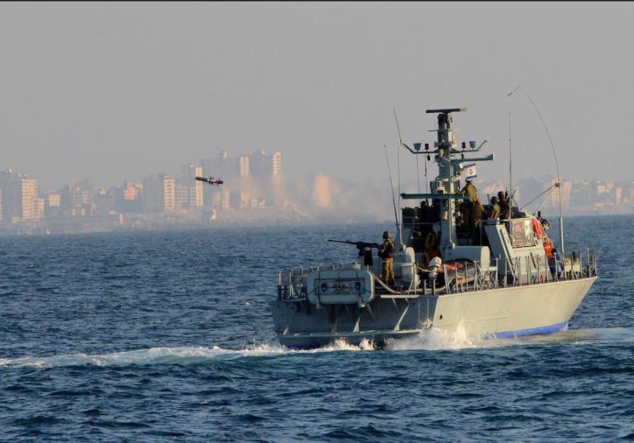 Israeli Navy boat