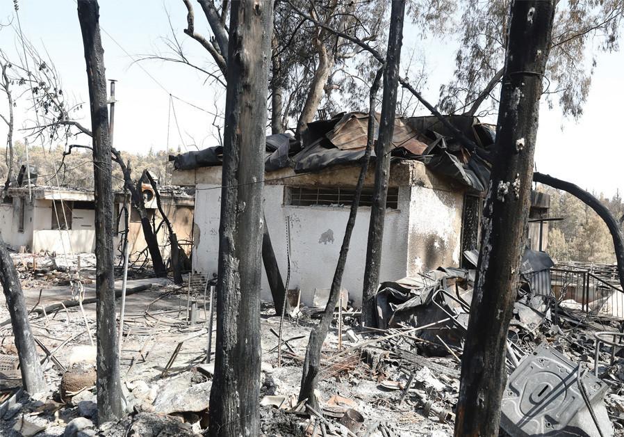 Moshav Mevo Modi'im fire - Displaced together