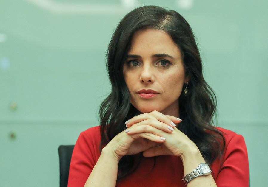 United Right leader Ayelet Shaked