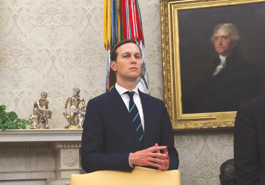 WILL THERE be another peace push from Jared Kushner and the White House?
