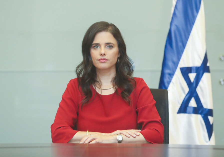 AYELET SHAKED: Without a big, strong United Right there is no chance settlement annexation will happ