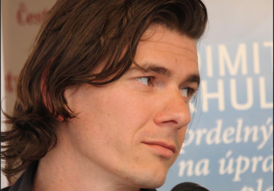 Journalist Dimitri Verhulst