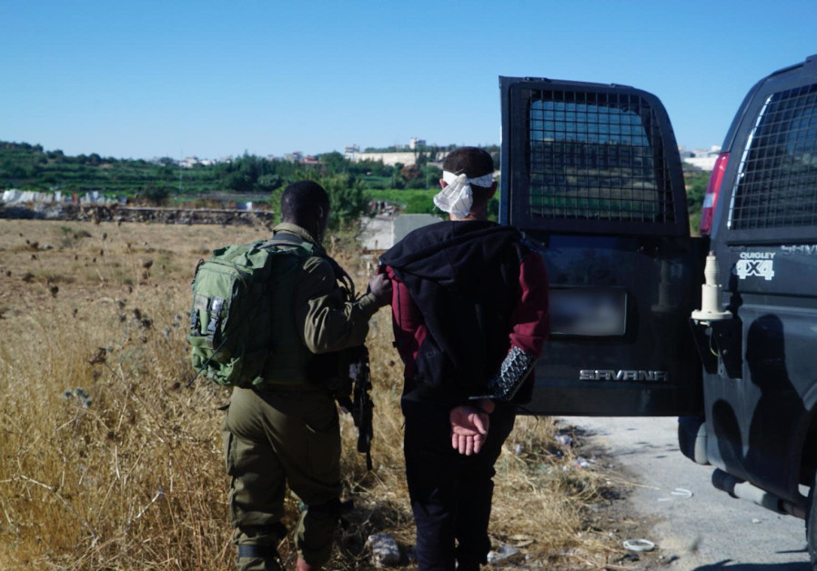 The Israeli military arrested two Palestinians suspected of the murder of Cpl. Dvir Sorek over the w