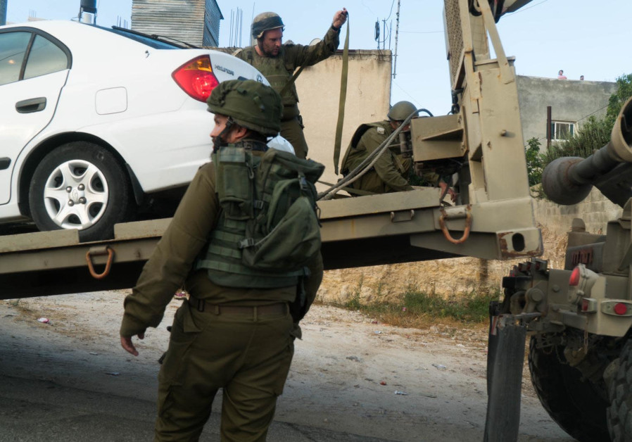 The Israeli military arrested two Palestinians suspected of the murder of Cpl. Dvir Sorek over the weekend on August 10, 2019.