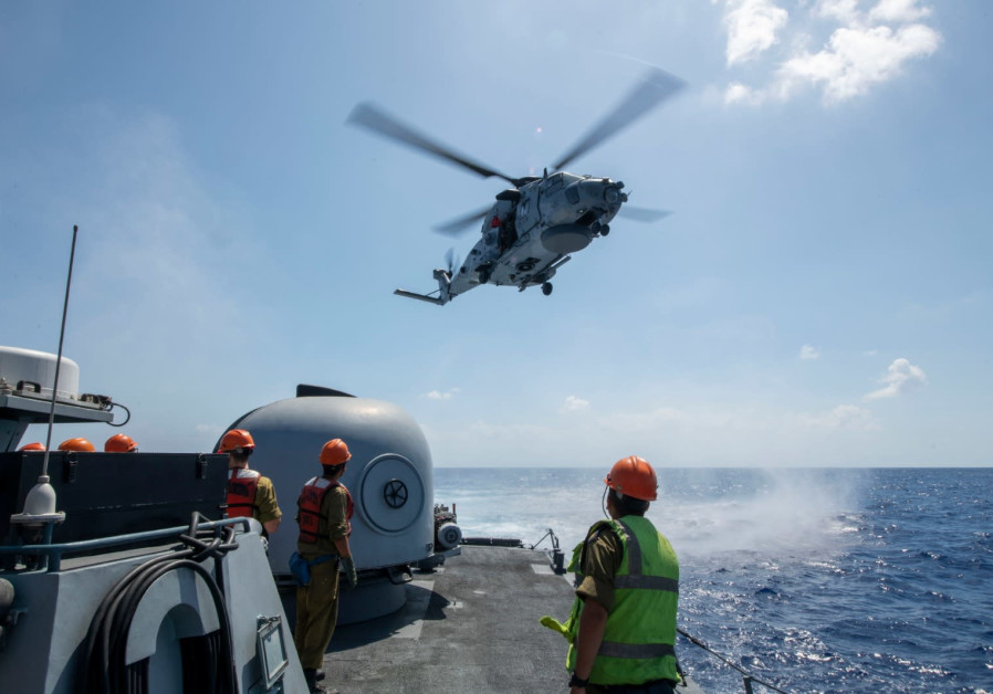"""Mighty Waves,"" the Navy's large-scale multinational exercise simulating the aftermath of a major e"