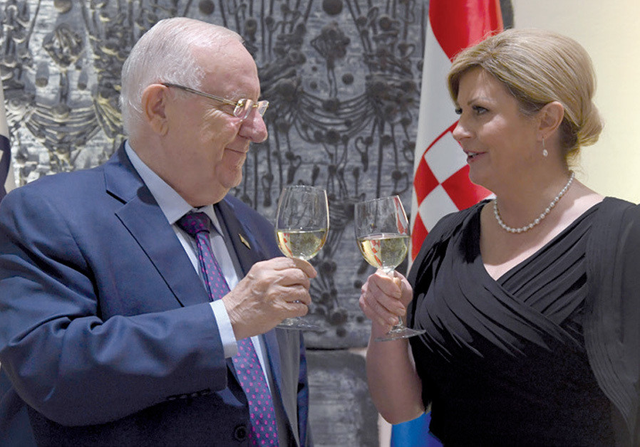 Why is Israel courting Croatia's leader?
