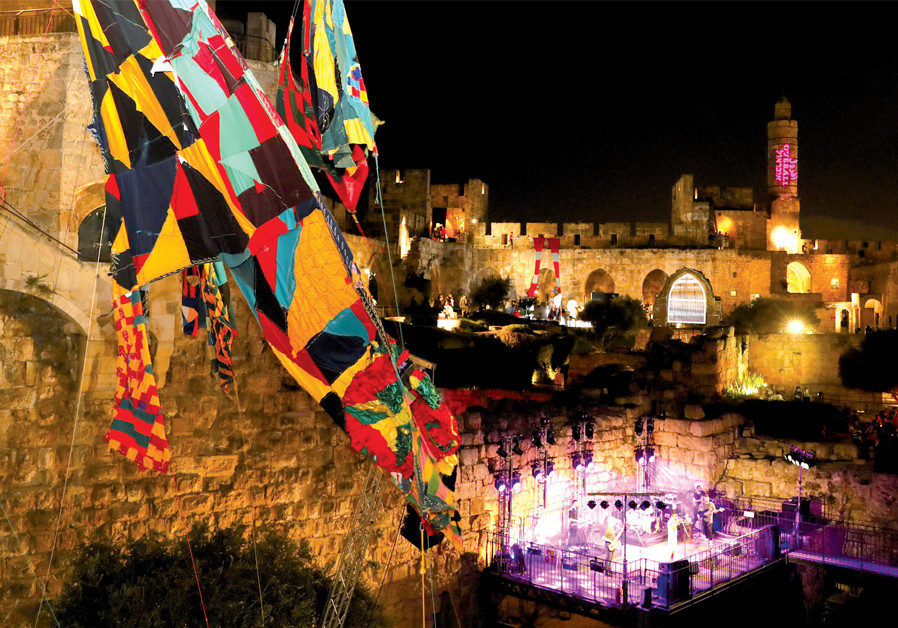Fashion night at the Tower of David
