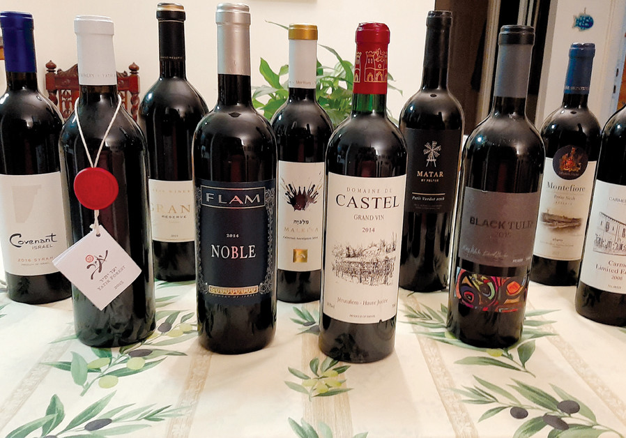 A SELECTION of the Israeli wines in Royal Wine's portfolio. (Credit: Courtesy)