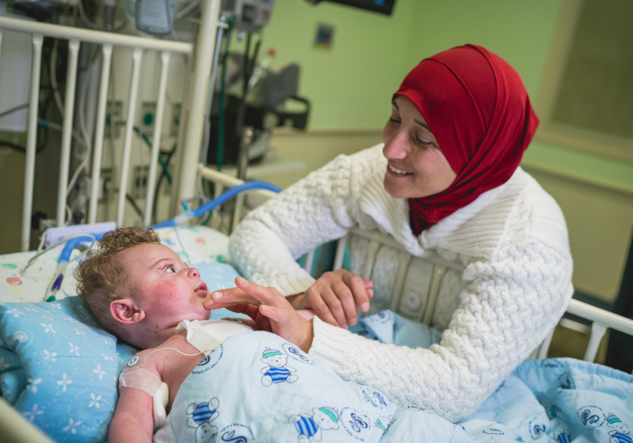 'Palestinian infants and children are dying'