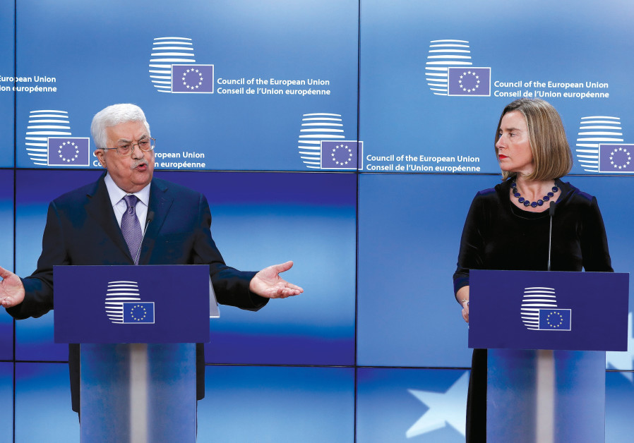 The EU battles Israel in Area C
