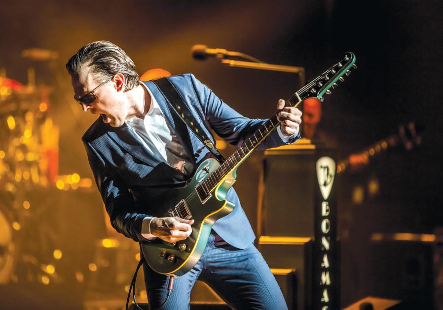 American blues rock wonder Joe Bonamassa returns to Israel