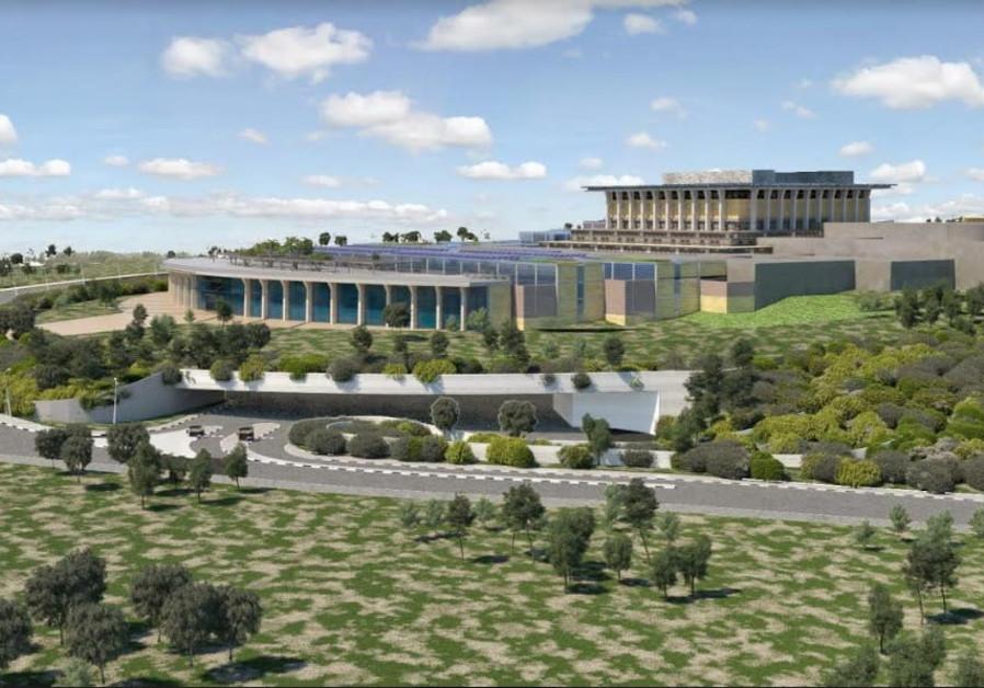Jerusalem municipality approves Knesset expansion plans