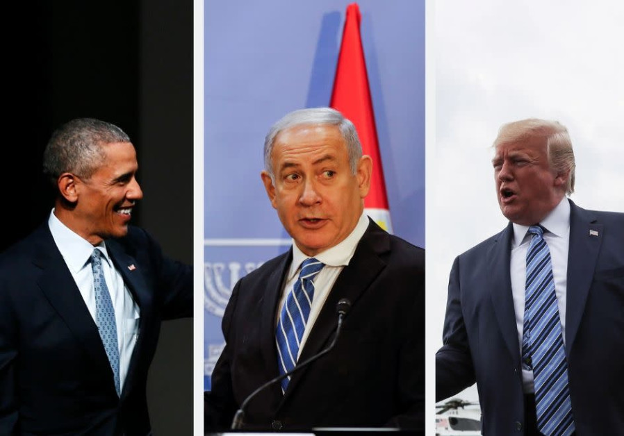 Netanyahu - damned for bad ties with Obama, damned for good ties with Trump
