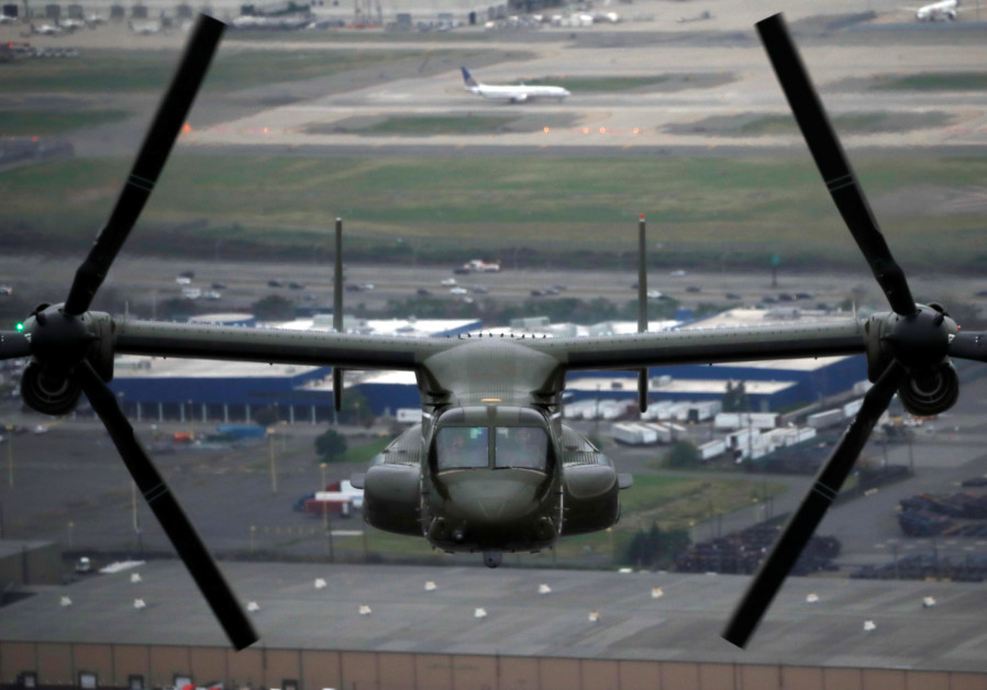 Israel one step closer to purchasing V-22 Osprey