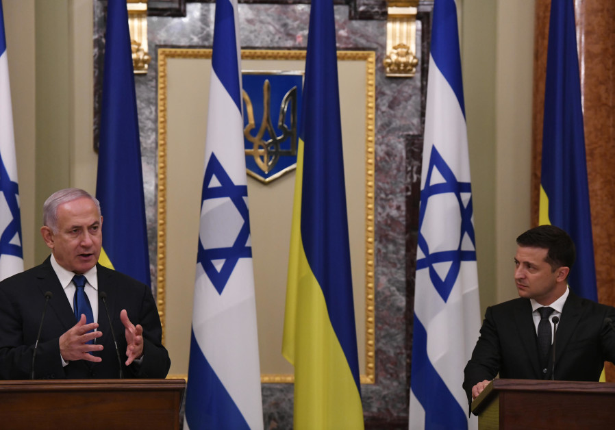 Prime Minister Benjamin Netanyahu's Statements with the President of Ukraine and the signing of agre