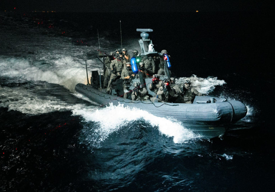 A joint drill between the IDF's elite Shayetet 13 navy commandos and US Army Special Forces (Credit: IDF Spokesperson's Unit)