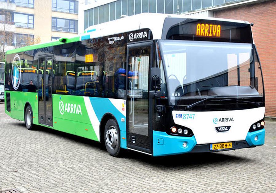 Arriva bus [illustrative]