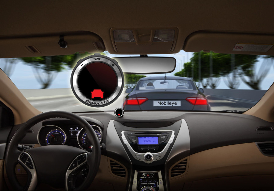 Mobileye's collision avoidance system