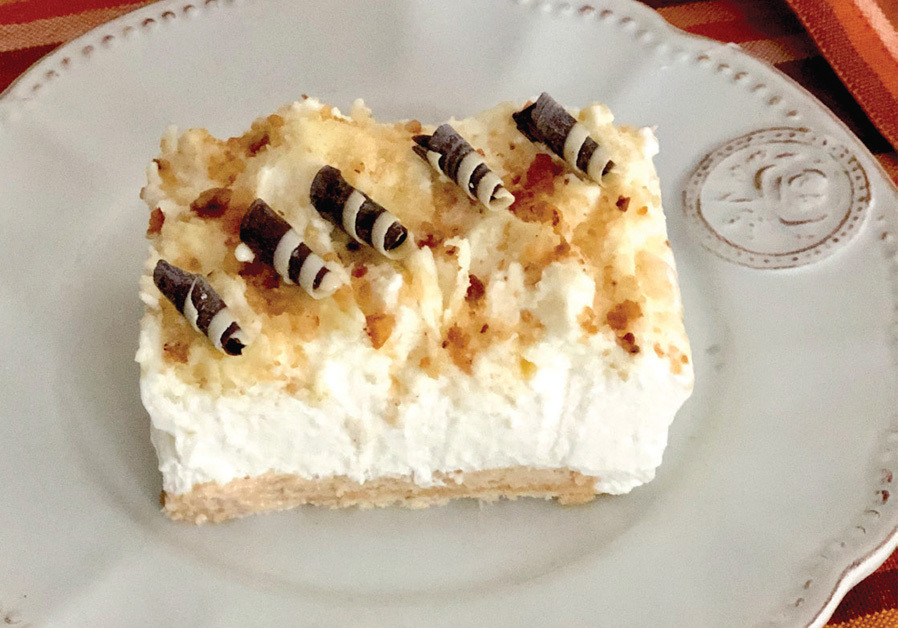BISCUIT CREAM CAKE ( Credit: PASCALE PERETZ RUBIN AND ANATOLY MICHAELLO)