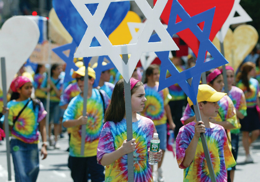 SUPPORTERS OF Israel at a parade in New York City in 2005. Fourteen years later, how have things cha