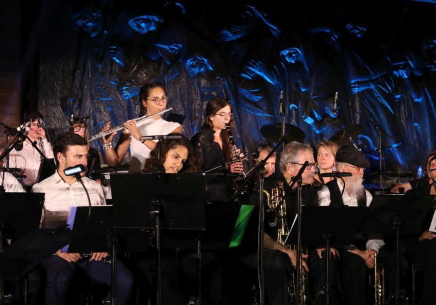 Holocaust survivors, families celebrate Jewish soul music at Yad Vashem