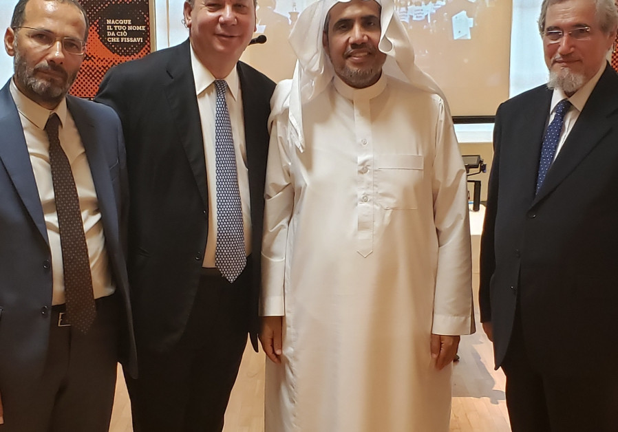 NY Rabbi, head of Muslim World League receive 'Children of Abraham' award