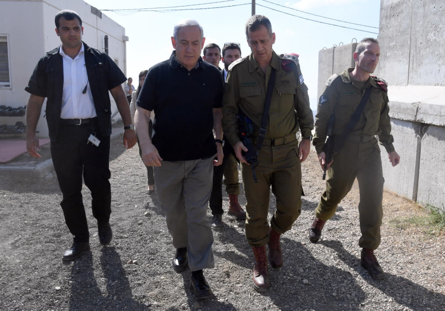 Netanyahu in North threatens Iran: We will not tolerate attacks on Israel