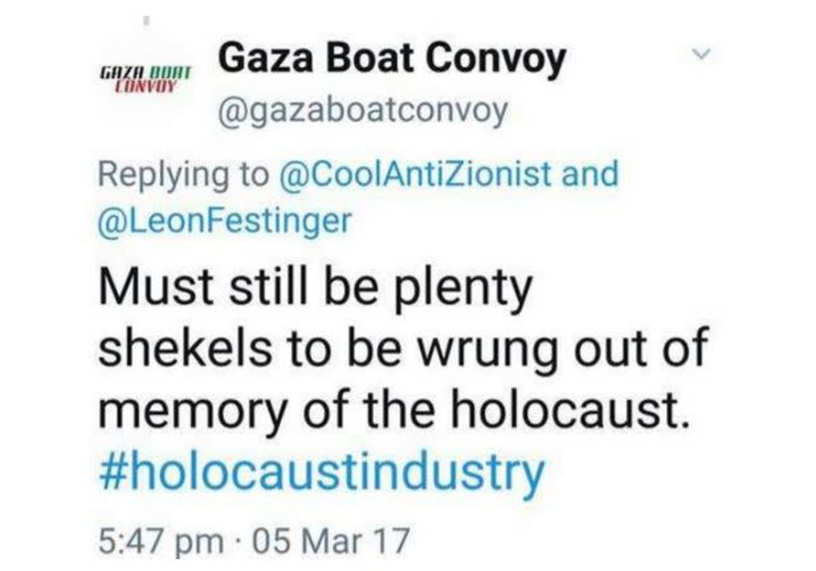 Gaza Boat Controversy (Twitter)