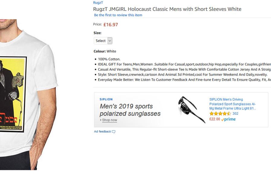 Nazi propaganda for sale on Amazon
