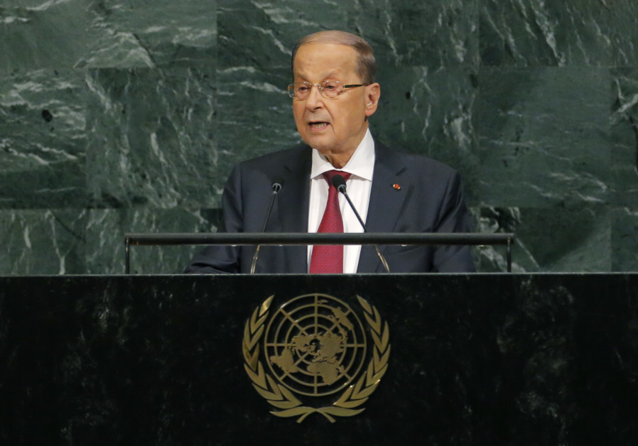 Lebanon's Aoun warns Israel would bear results of any attack