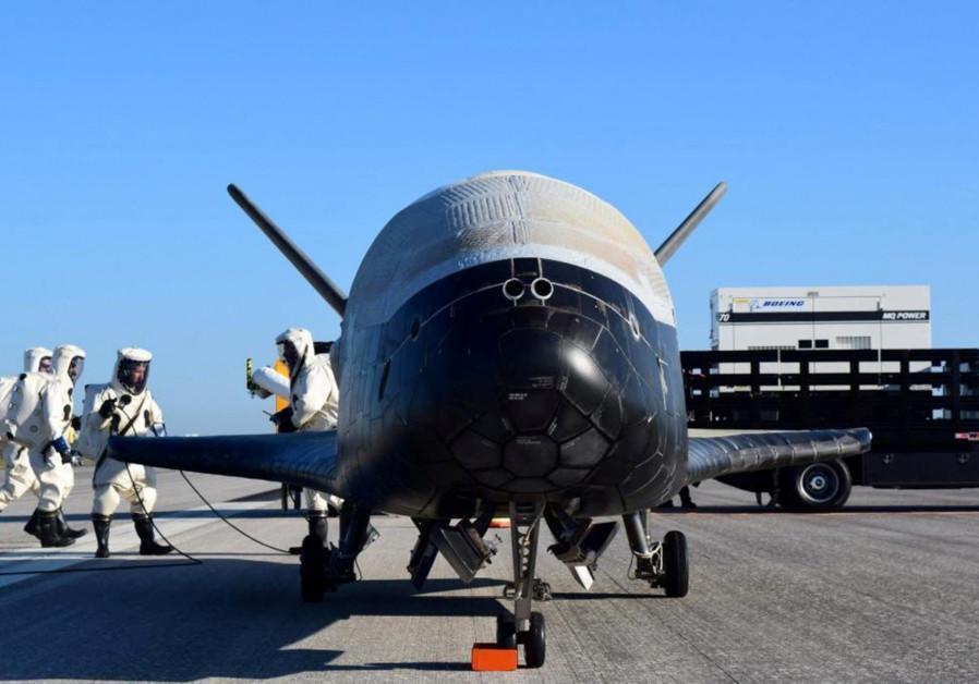 Secret spacecraft breaks flight record