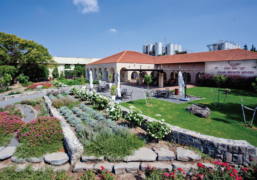 THE VISITORS center of the Golan Heights Winery: Step into Napa Valley. (Credit: GOLAN HEIGHTS WINERY)