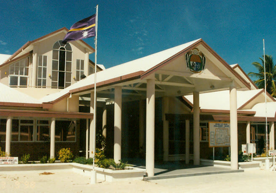 The Parliament in Nauru