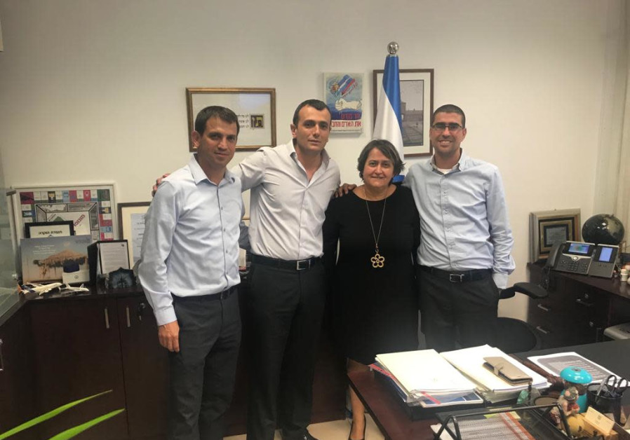 Teachers' Union representatives following the end of the negotiations with the Finance Ministry