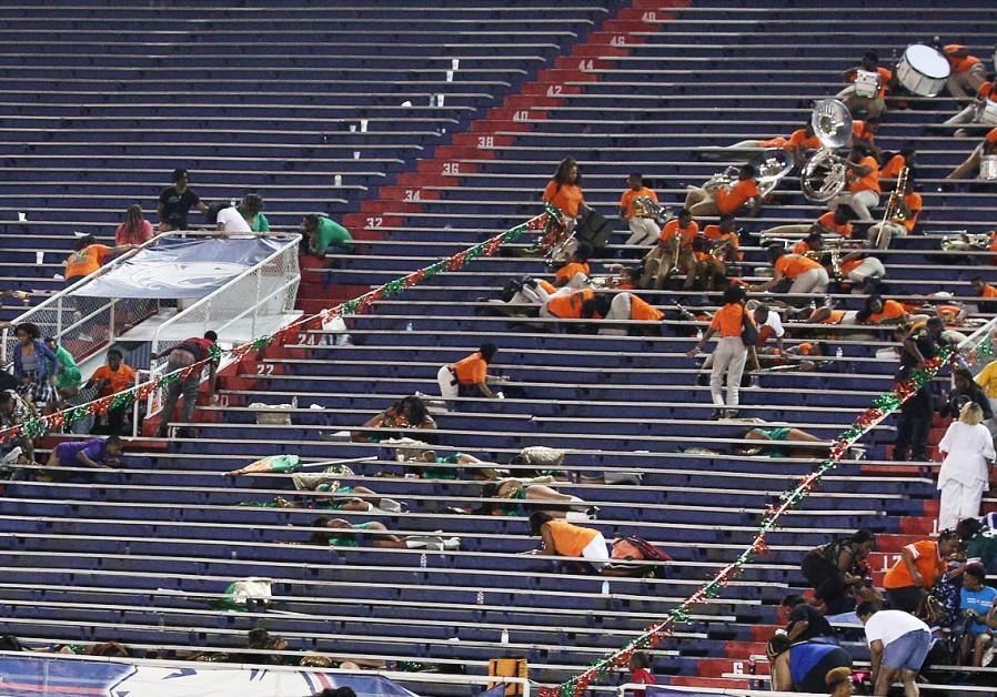 10 people shot during football game at Alabama stadium