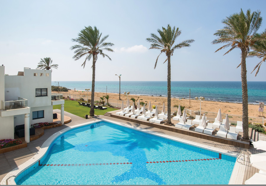 NAHARIYA BEACH is only steps away from the Sealife Spa Hotel