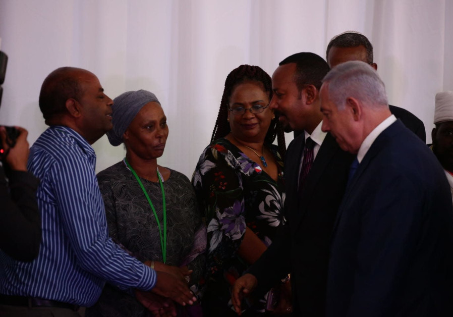 Ethiopian PM meets mother of Israeli held in Gaza