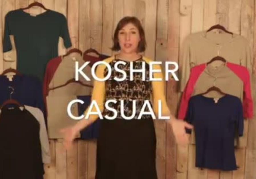Mayim Bialik embraces modest fashion line