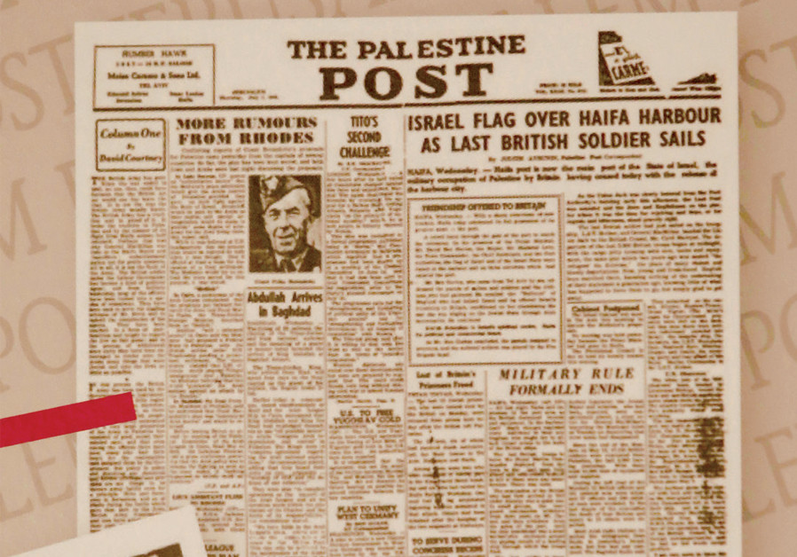 Book review: 'The Jerusalem Post' at its birth