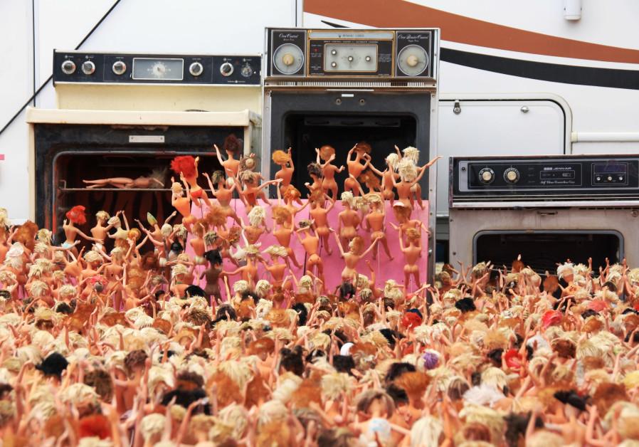 Barbie death camp, Burning Man festival 2014