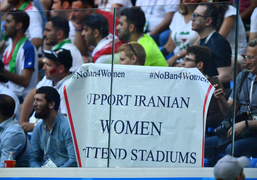 Iranian woman arrested for attending soccer game sets herself on fire