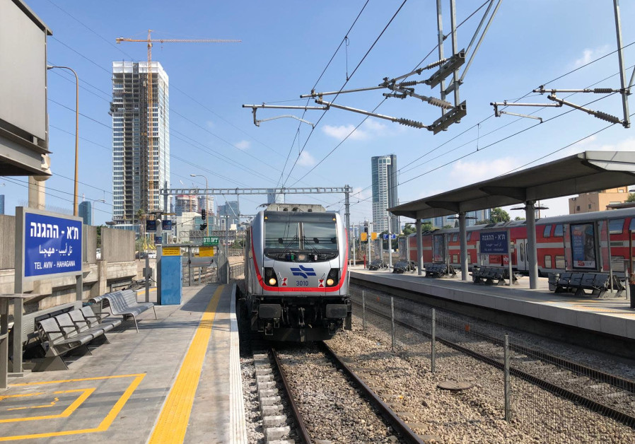 First Jerusalem-Tel Aviv railway test run executed successfully