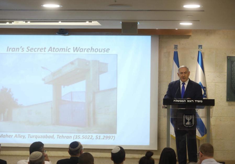 Le Premier ministre Benjamin Netanyahu a révélé les bases nucléaires iraniennes découvertes par Israël.