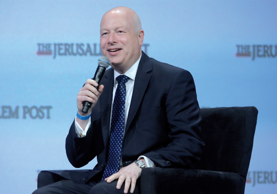 Israel review of past 14 days: Greenblatt resigns