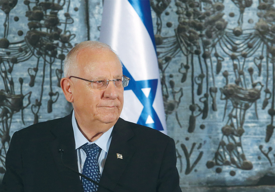 President Reuven Rivlin says he will do all in his power to prevent a third election (Credit: MARC ISRAEL SELLEM)