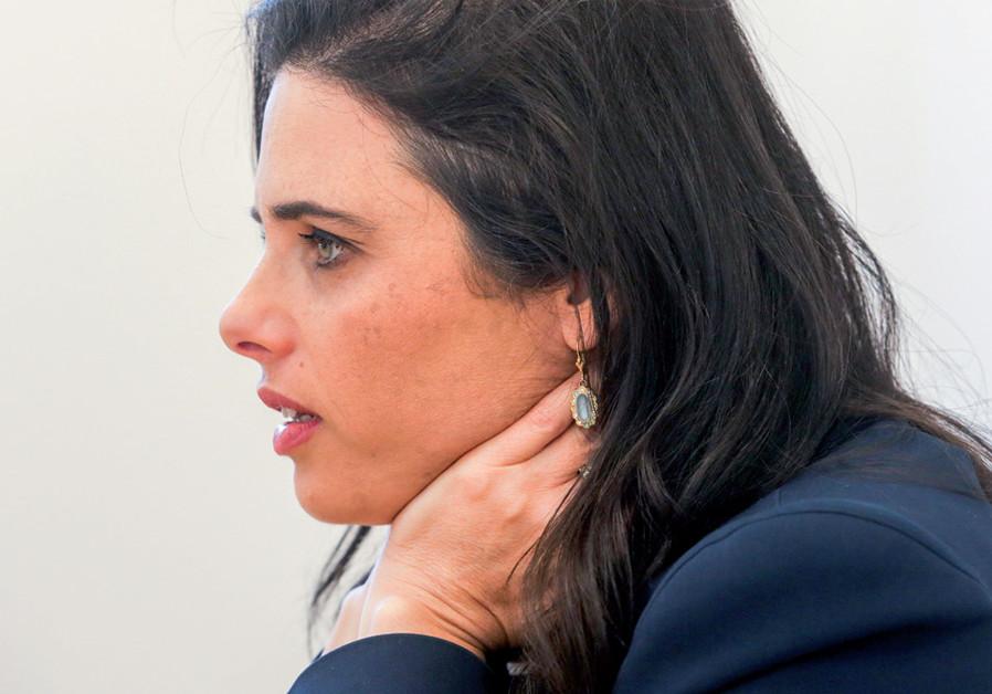Yamina leader Ayelet Shaked (Credit: MARC ISRAEL SELLEM)