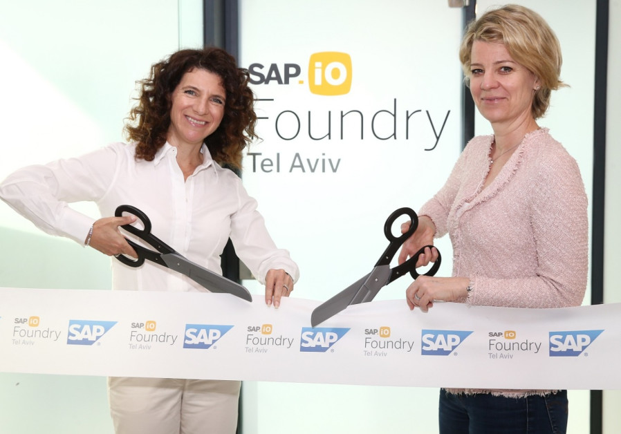 German tech giant SAP launches Tel Aviv start-up accelerator