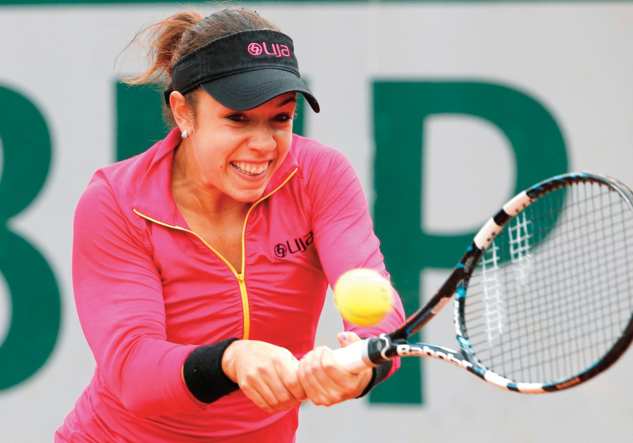 The true tennis love story of Canadian-Israeli Sharon Fichman