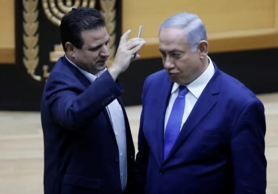 Arab MKs on Netanyahu handing back mandate: Good riddance